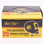 Measuring Tape 25ft x 1in (Imperial Tape)