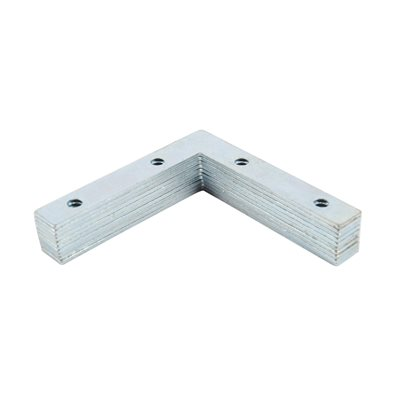 10 pc 3in Flat Corner Brace