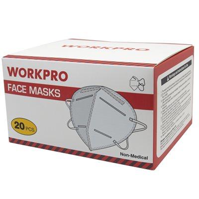 20PC Disposable Face Masks KN-95 White