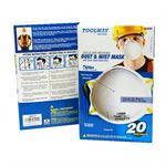 20 PC Dust Mask 3 ply H / D