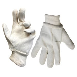 1dz. Cotton Canvas Gloves (OSFA)