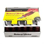Screwdriver 6in 7in1 24pc Display