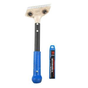 Scraper Hand Tool HD 12in Metal -Handle & 4in Blades