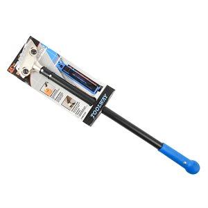Scraper Hand Tool HD 24in Metal -Handle & 4in Blades