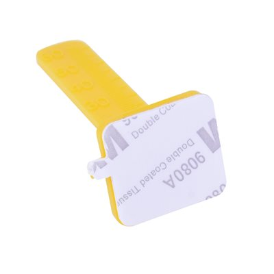 100PC Leveling Peg Yellow 60mm W / 2 Sided 3M Tape