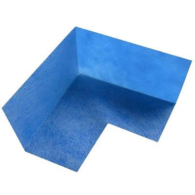 Nonwoven Membrane Fabric Inside Corner 14cm x 6cm Blue