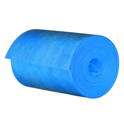 "Nonwoven Membrane Fabric Band 12.5cm x 10mil x 30m (5""x98') Blue"