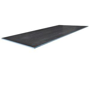 5PC XPS Foam Tile Backer Board 4ft × 1 / 2in x 8ft