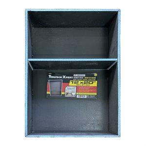 XPS Foam Shower Niche With 1 Shelf 12in x 3.5in x 20in