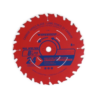 Saw Blade ATB Cross Cut 8 ¼in (206mm) 24T 7000RPM
