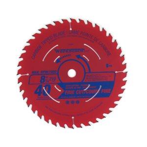 Saw Blade ATB Fine Cut 8 ¼in (206mm) 40T 7000RPM