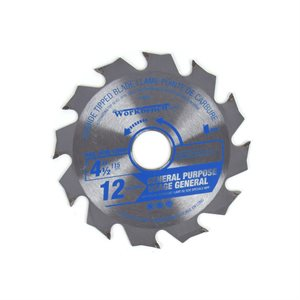 Saw Blade Ripping & Framing 4½in (115mm) 12T 12000RPM