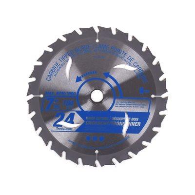 Saw Blade ATB Cross Cut 7¼in (184mm) 24T 7000RPM