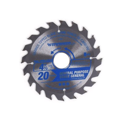Saw Blade Ripping & Framing 4½in (115mm) 20T 12000RPM Multi Purpose
