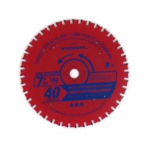 Saw Blade Metal & Alum TCG Cut 7¼in (184mm) 40T 4500RPM
