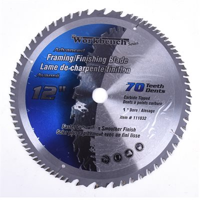 Saw Blade Advanced 12in x 70T
