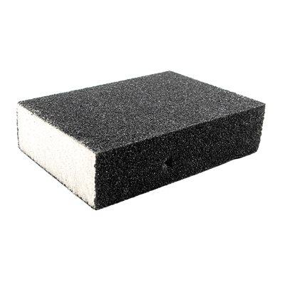 Sanding Sponge 4inx3inx1in (120 Grain Size) Silicon Carbide