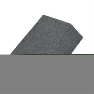 Angled Sanding Sponge 5inx3.5inx1in (100 Grain Size)