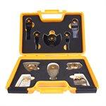 10PC ALL-PURPOSE Multi-Tool Accessories set