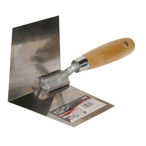 Inside Corner Tool 3in Wood Handle