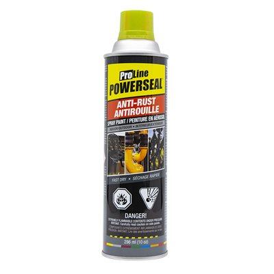 Anti-Rust Paint Spray Yellow Gloss 285g (10oz)
