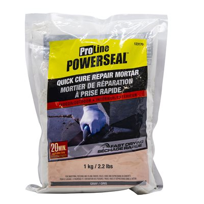 Quick Cure Repair Mortar Gray 1kg