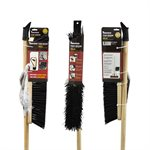 18in Push Broom-Concrete W / Brace & Handle