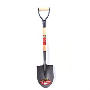 Shovel Round Mouth 39½in Wood D-Handle