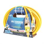 Extension Cord 10m SJTW 16 / 3 1-Outlet