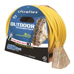 Extension Cord SJTW 10 / 3 50ft 3-Outlets