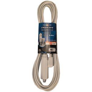 Extension Cord SPT-3 16 / 3 4.5m 3-Outlet