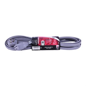 Extension Cord SPT-3 16 / 3 4.5m 1-Outlet