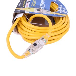 Extension Cord 10m SJTW 14 / 3 1-Outlet