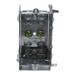 (1104LH) 2½in Deep Switch Box w / Clamps