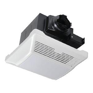 Ventilateur De Salle De Bain De Luxe Silencieux Avec Lumière 110 CFM 1.2 Sone