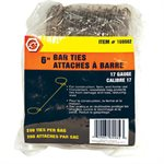 Bar Ties 6in 17G 200 / bag