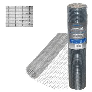 ½in x24in x50ft 19 -Gauge Galvanized Steel Hardware Cloth