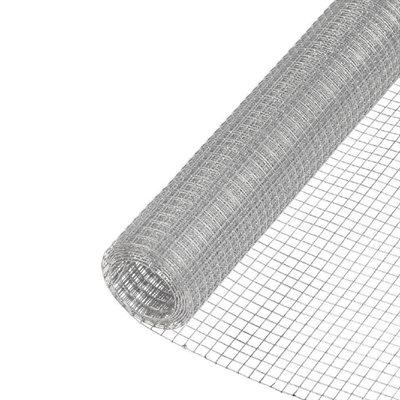Galvanized Hardware Cloth 23ga ¼in x 24in x 50ft