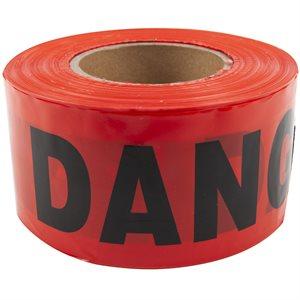 Danger Tape With Dispenser 3inx1000ft