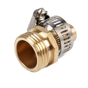 Hose Repair Kit Male With Coupling 5 / 8in