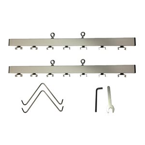 EDJ / EDK Strip Hanger; Holds Up To 7 Fixtures