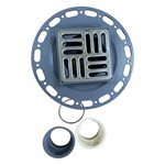 Square Shower Drain Grill Grid 4 11 / 16in x 4 11 / 16in