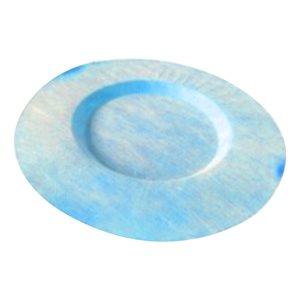 "Nonwoven Membrane Fabric Drain Flange ?43mm x 19mm (?17""x3 / 4"") Blue"