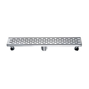 Linear Shower Drain Grill Grid 2in 36in x 3in x 3 1 / 8in