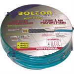 Air Hose ¼inX50ft Polyurethane Quick Coupler & Plug with ¼in female NPT