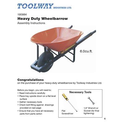 Wheelbarrow Manual