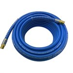 Air Hose Hybrid Polymer With Spring Bend Restrictor ¼in x 50ft