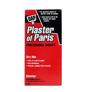 60110 Plaster Of Paris 2KG White