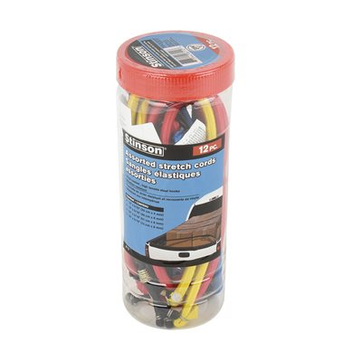 12 PC Assorted Stretch Cords