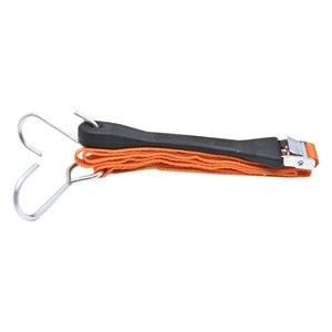 2PC Hook & Pull Adjustable Tie Down With J & S Hooks 0.8in x 4ft